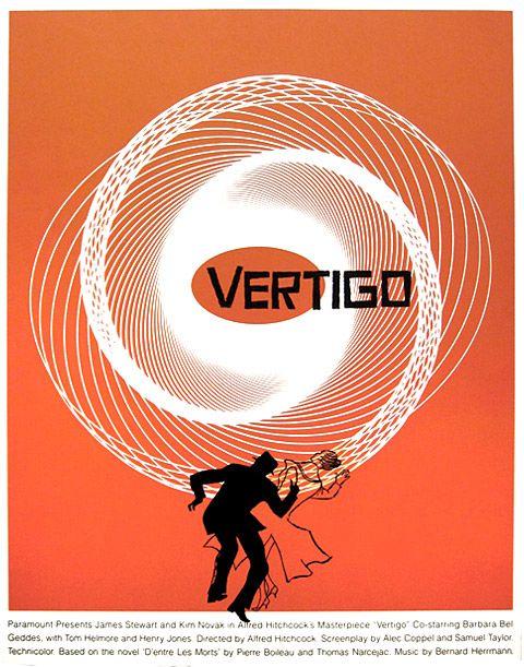 saul bass vertigo special movie poster cool movietv
