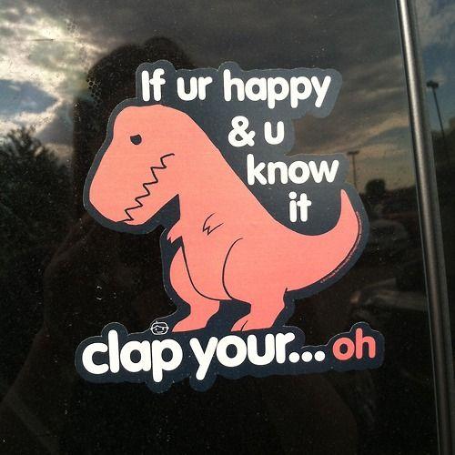 Haha poor dinosaur