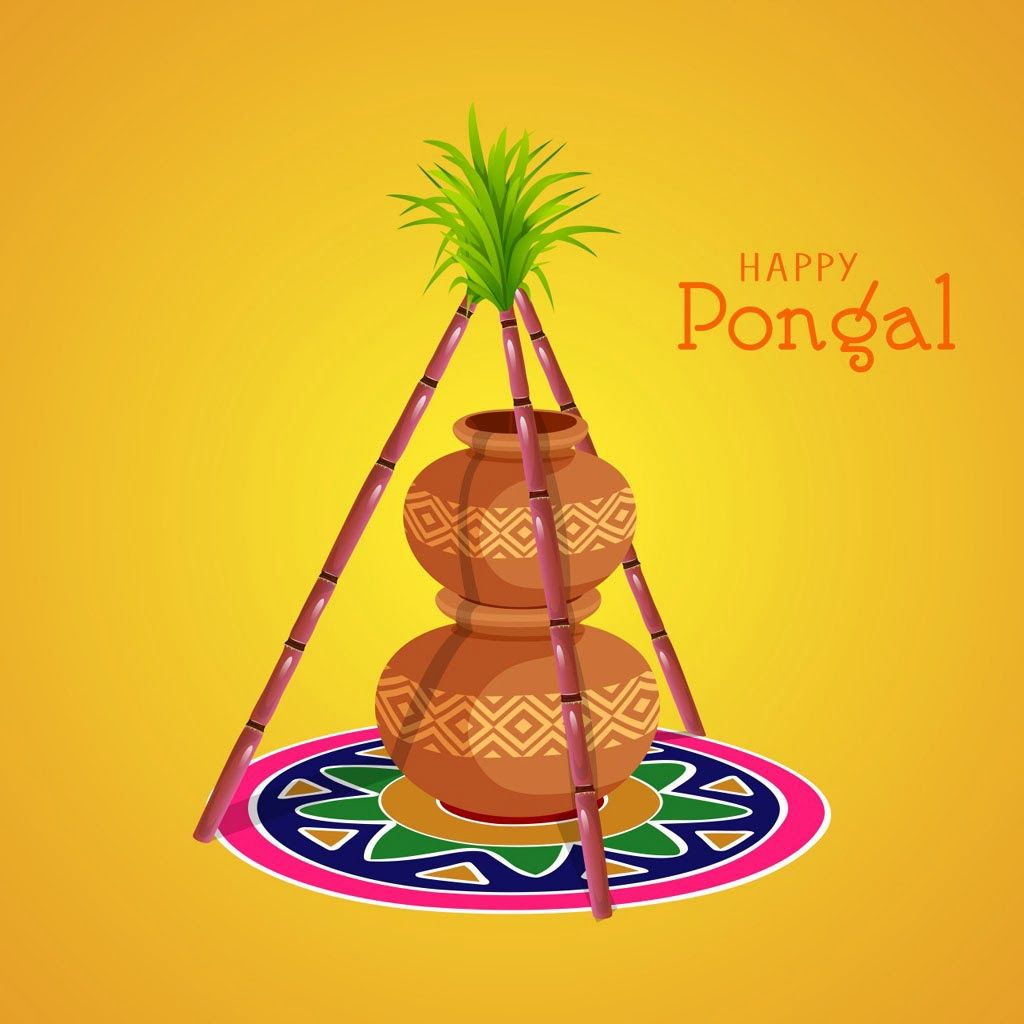 Happy Pongal Greetings Sms Messages In Tamil Top Angle Pinterest