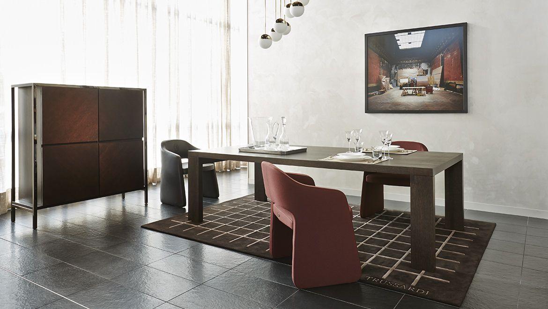 trussardi casa y home decor table dining room. Black Bedroom Furniture Sets. Home Design Ideas