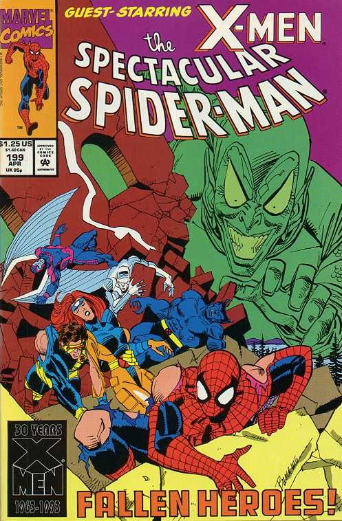Peter Parker, The Spectacular Spider-Man # 199 by Sal Buscema