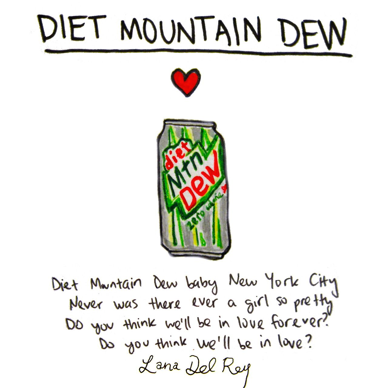 Has Diet Mountain Dew Changed?