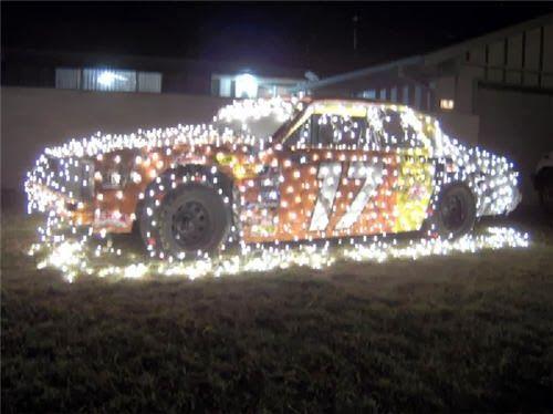 NASCAR Christmas 17 - NASCAR Christmas 17 Pics Redneck Christmas, Christmas, Christmas Car