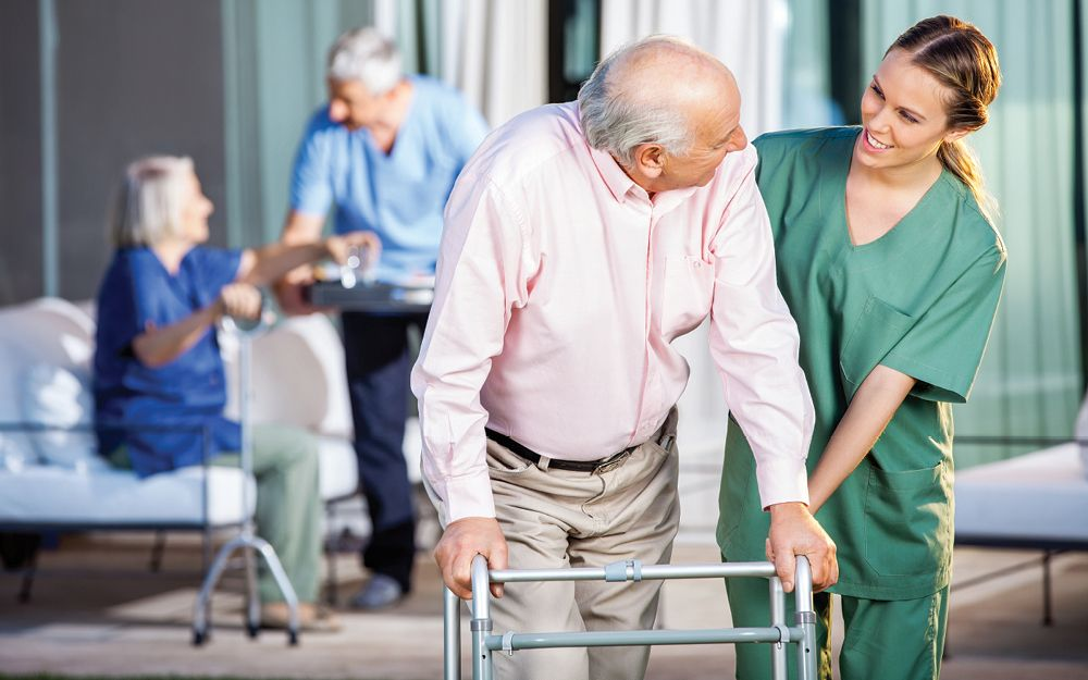 Leaving the family home to enter residential care is a