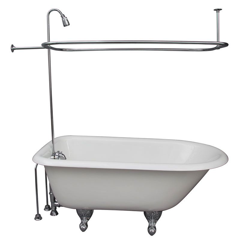 Barclay Convertos tub shower conversion kit installed on tub | Room ...