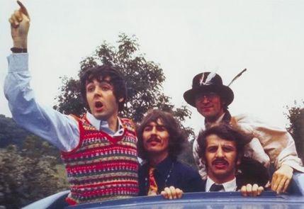 Paul McCartney in a Fair Isle Sweater Vest - Magical Mystery Tour ...