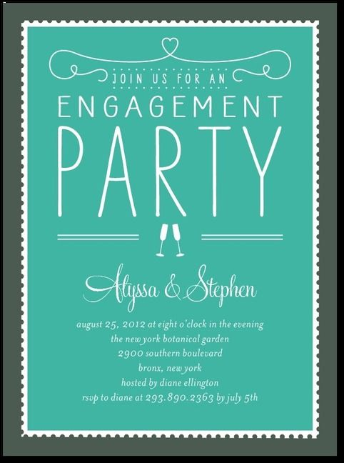 Engagement Part Invitation httpwwwweddingpaperdivascom