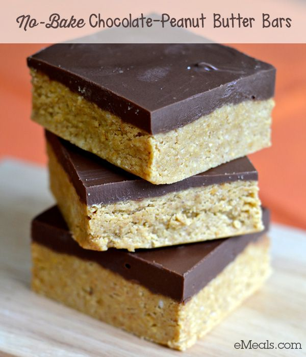 No bake chocolate peanut butter bars recipe bake bar for Peanut butter recipes easy dessert