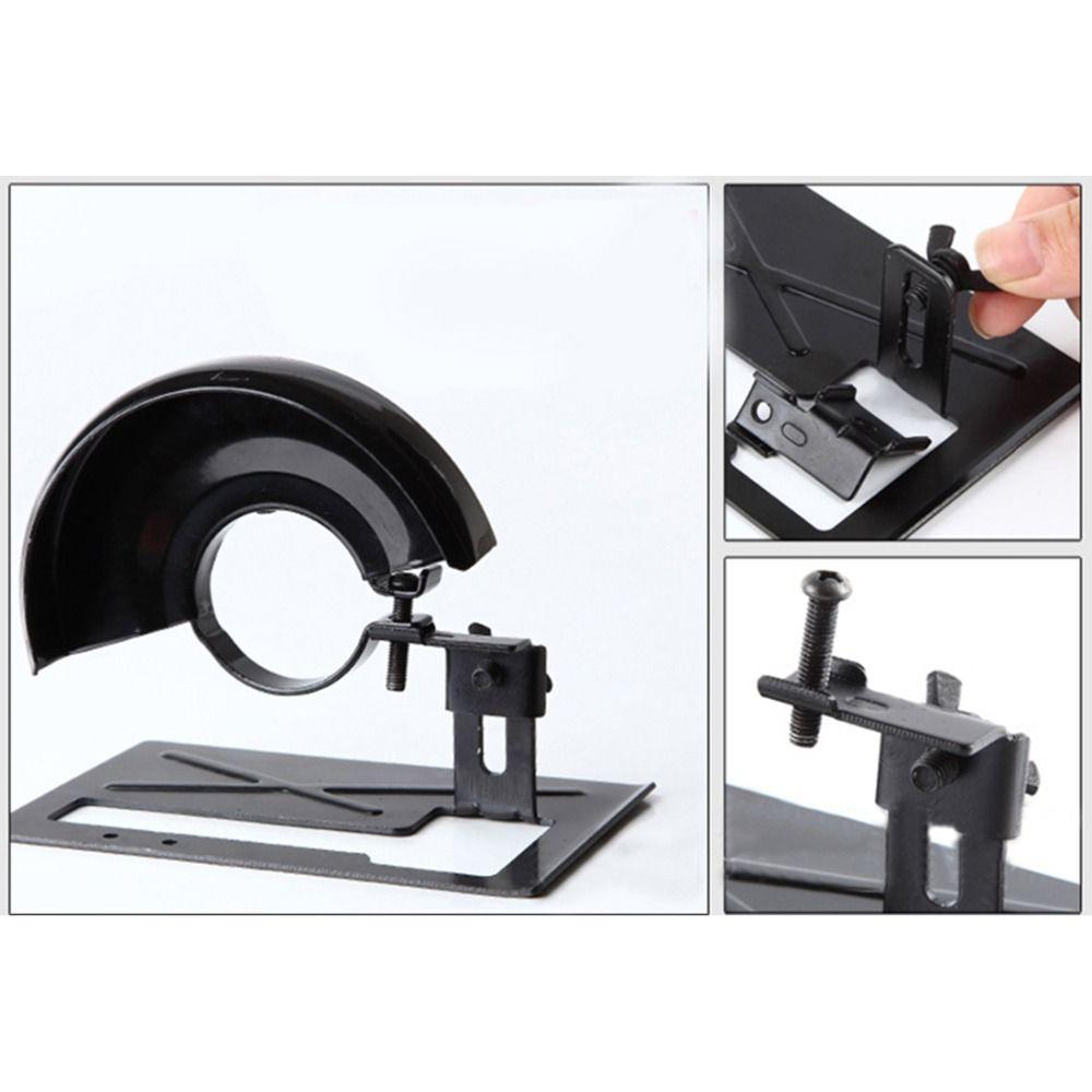 dremel angle grinder conversion cutting machine base polishing