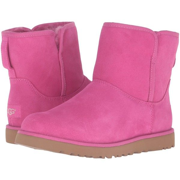 0d6e8ac4ef6 UGG Cory (Furious Fuchsia) Women's Boots ($60) ❤ liked on Polyvore ...