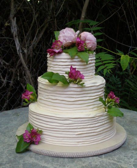 THIS is our wedding cake, rustic & simple, no fondant. I knew this ...