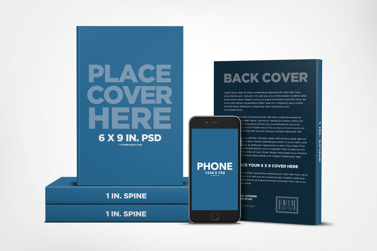 Big Book Promo Template With Ereader Covervault Book Cover Mockup Book Cover Template Promote Book