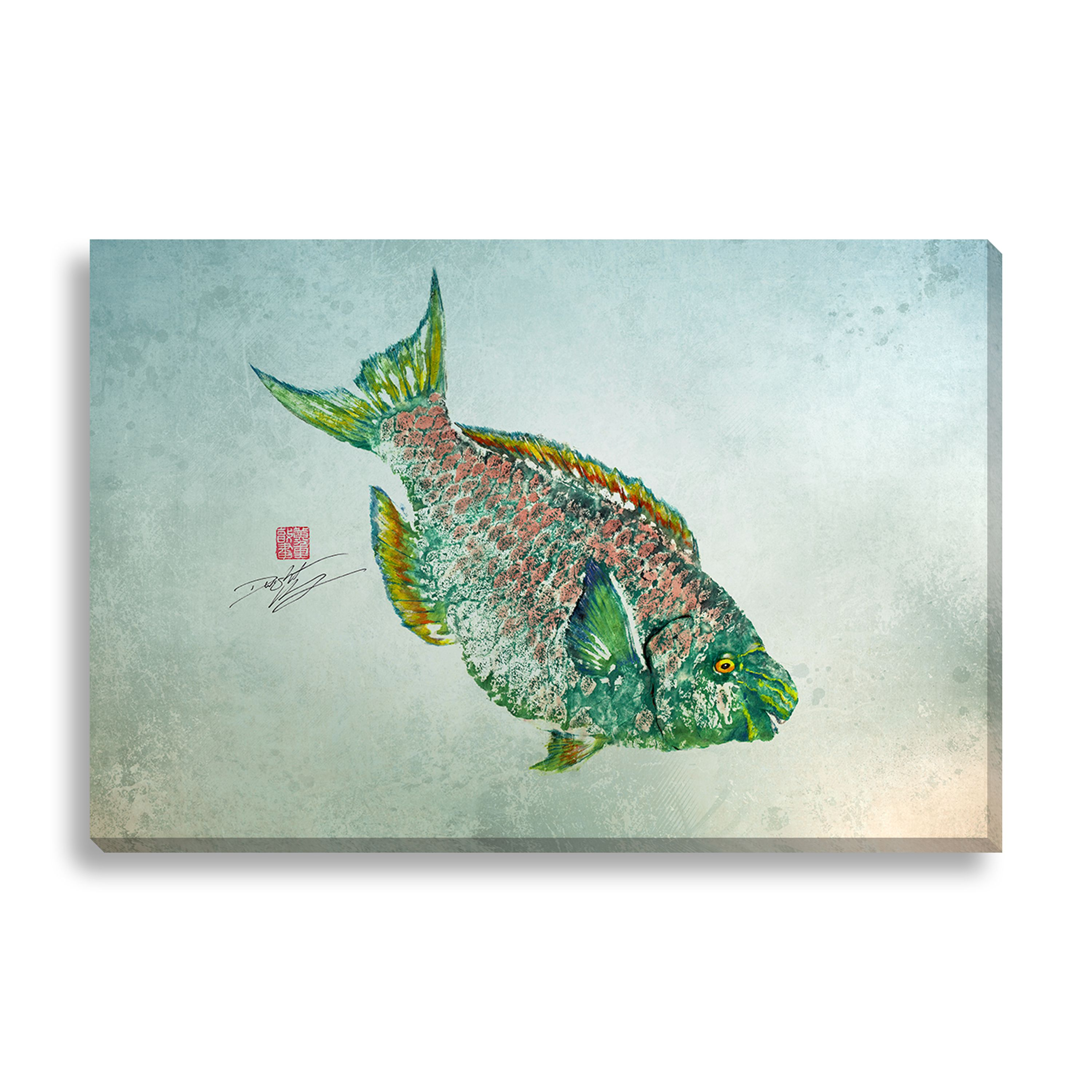 Gallery Direct Dwight Hwang \'Parrot Fish\' Canvas Art | Products ...