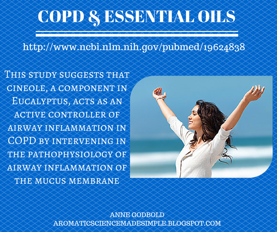COPD #eucalyptus #doterra #lungs aromaticsciencemadesimple