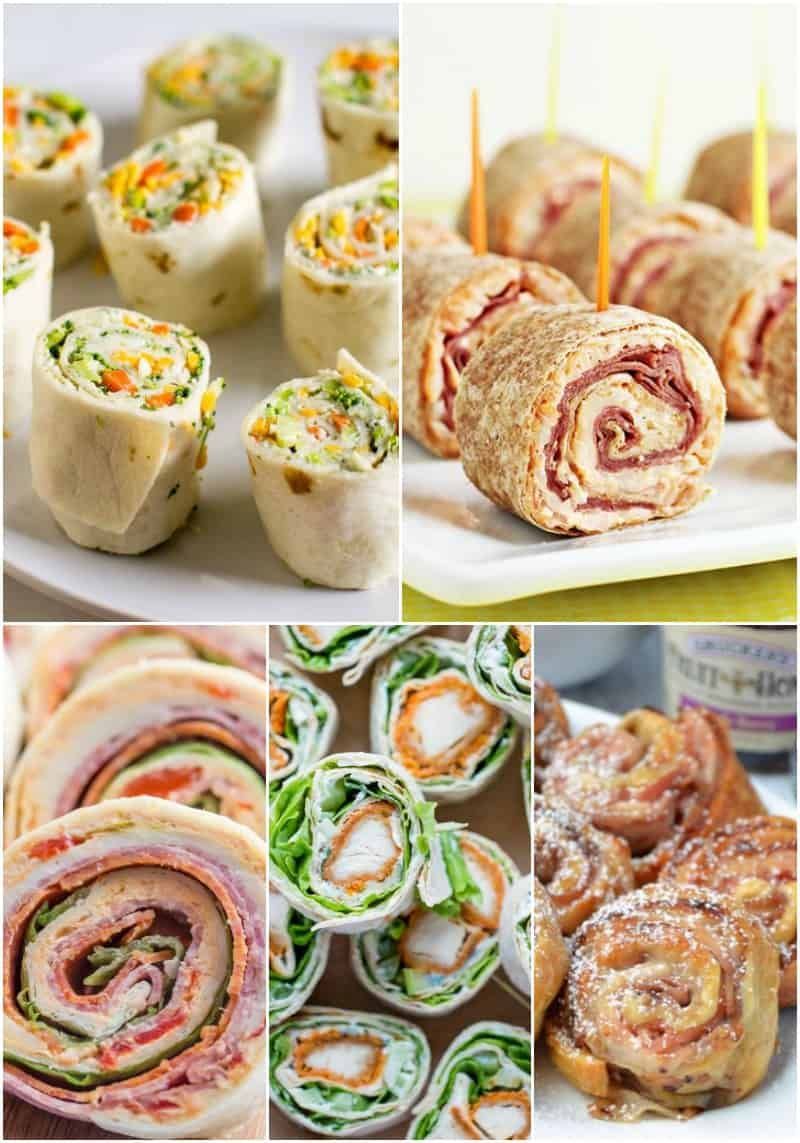 25 Easy Party Pinwheel Recipes