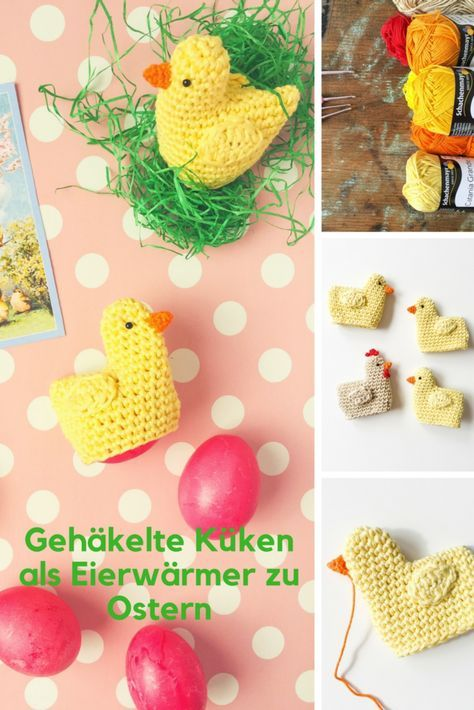 Photo of A guide to crocheted chicks as Easter egg warmers