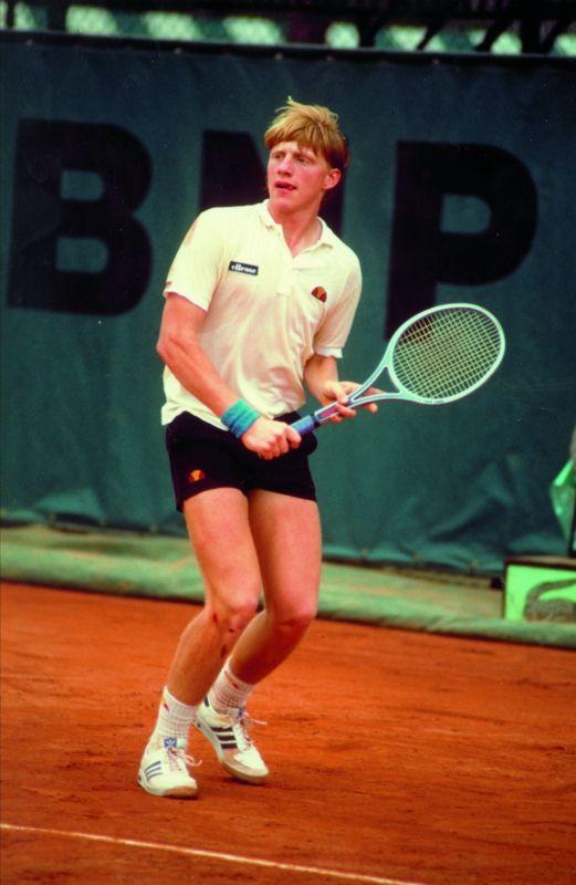 Boris Becker, #tennis, 1980's   Vintage tennis, Tennis