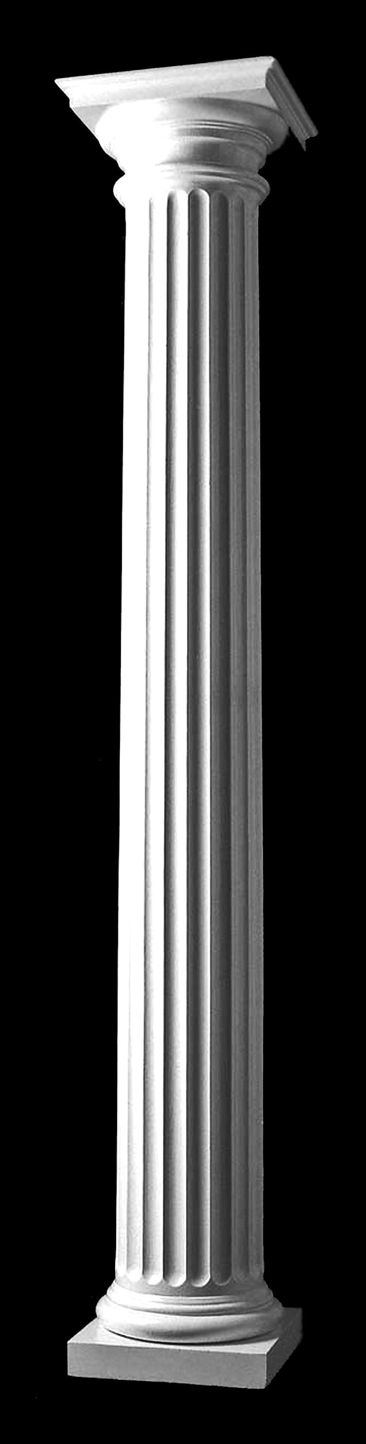 Chadsworth Columns Design 105 Doric Order Roman Wood