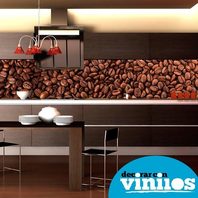 Vinilos cocinas papel mural vinilos fotomurales - Murales para cocinas ...
