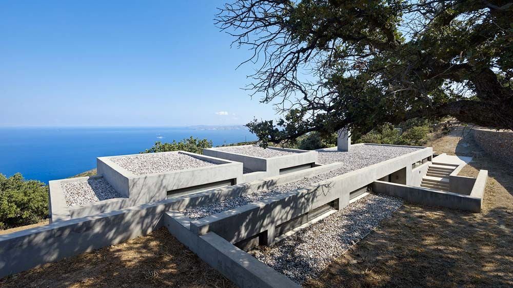 House in Kea by Marina Stassinopoulos and Konstantios Daskalakis - The Greek Foundation
