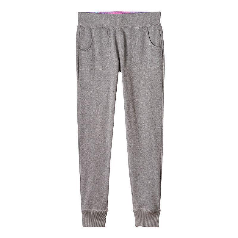 851b03b46fe94 Girls 7-16 FILA Sport® Fleece-Lined Heathered Jogger Pants, Girl's, Size: