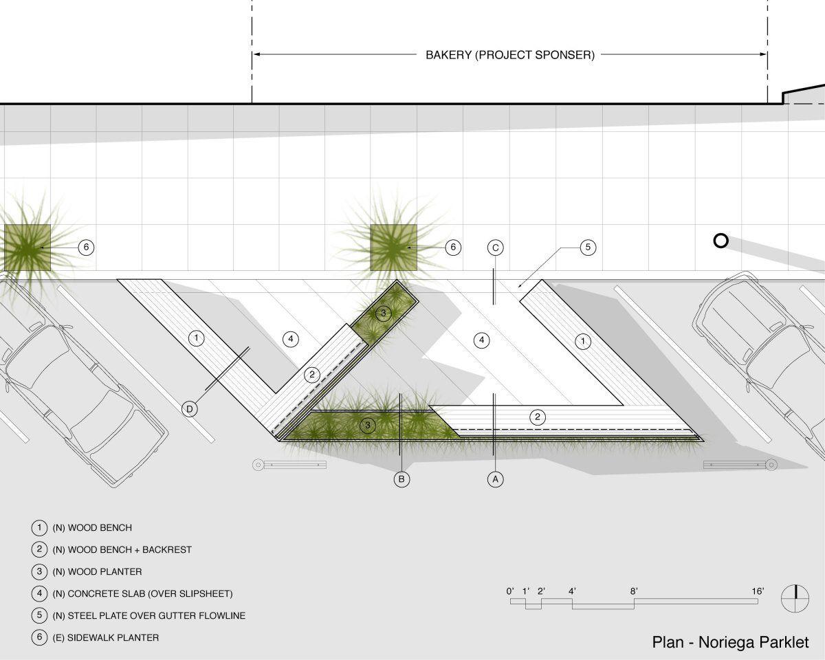 Arquigrafia estacionamiento p blico noriega matarozzi for Equipamiento urbano arquitectura pdf