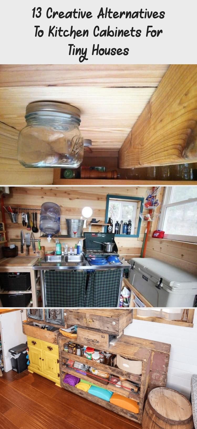13 Creative Alternatives To Kitchen Cabinets For Tiny Houses In 2020 With Images Kitchen Cupboard Designs Cabinet Kitchen Cabinets