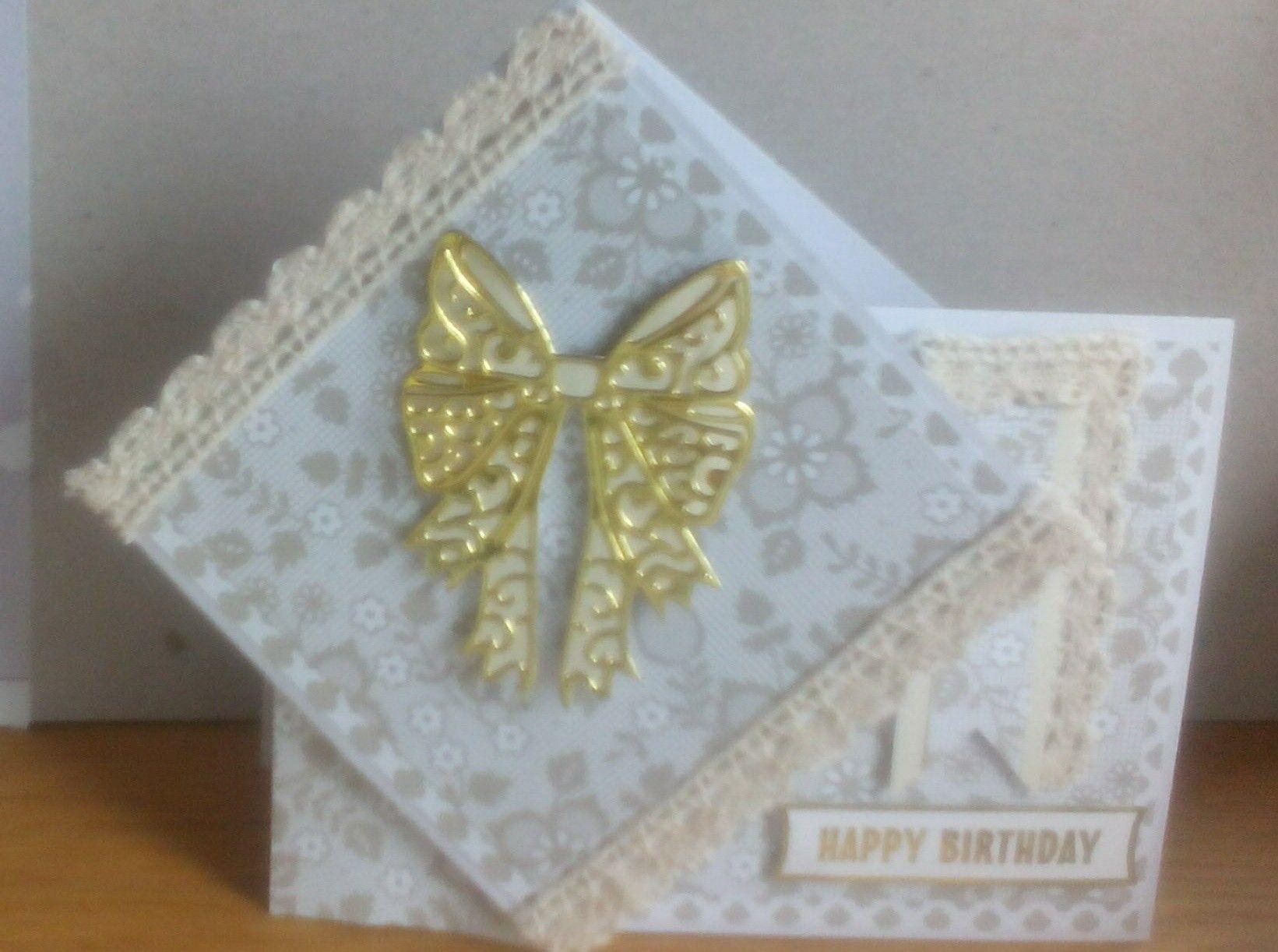 Handmade card using an idea in Quick Cards magazine