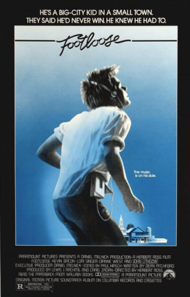 The 50 Most Iconic Movie Posters Of The 1980s Iconic Movie Posters Movie Posters Footloose Movie