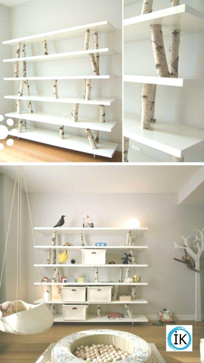 Bücherregal aus weißem Holz, wie macht man ein Bücherregal … – Bilder Bilder