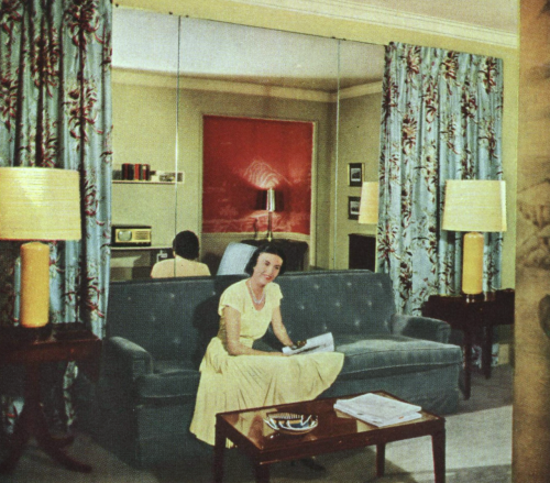 1950s Living Room | Vintage Mid Century Design Ideas ...