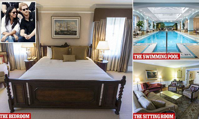 Harry Sneaks Meghan Into His Five Star Hideaway