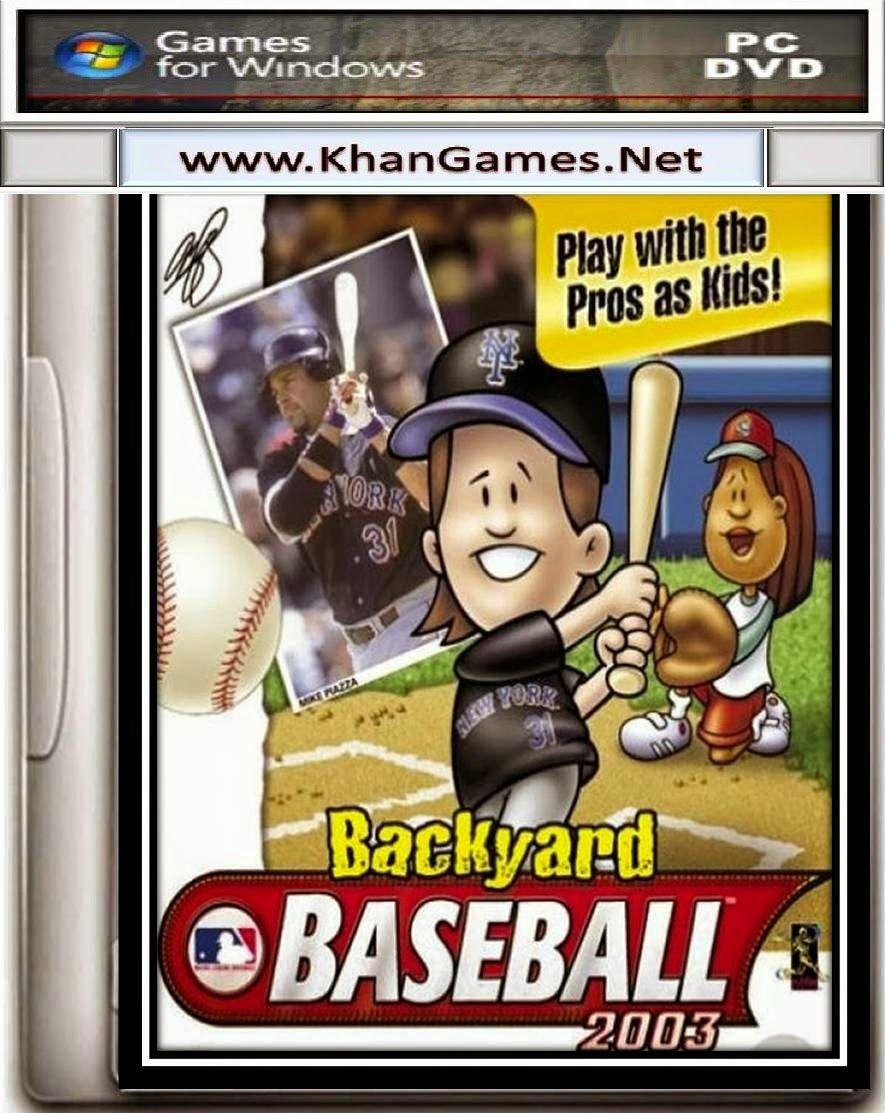 Backyard Baseball 2003 Game   Free Download For PC Full Version | Khan Games