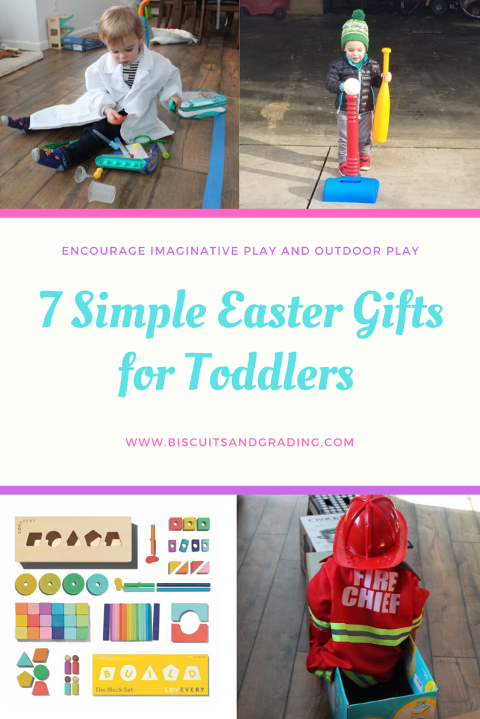 7 Ideas for Simple Easter Gifts for Toddlers – Biscuits and Grading