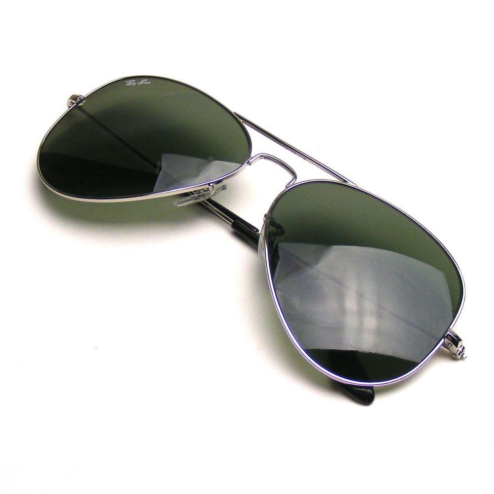 8b5e42b6169 Ray Ban RB3025 Large Metal Aviator Sunglasses 003 3N 58014  RayBan   AviatorSunglasses