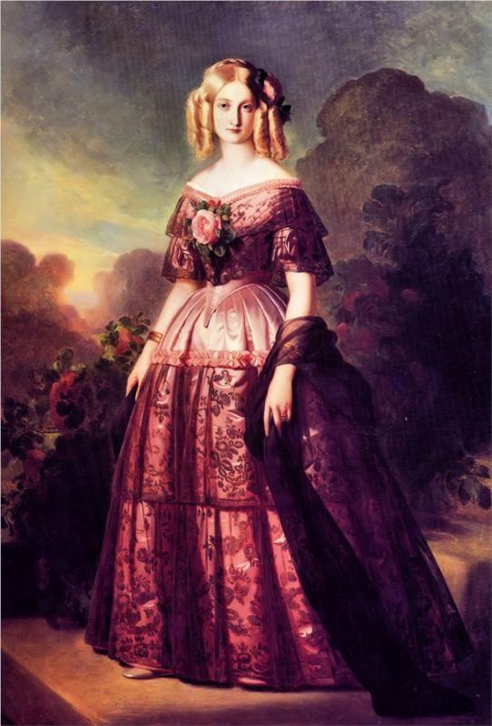 Maria Carolina de Borbó Dues Sicílies - Franz Xaver Winterhalter