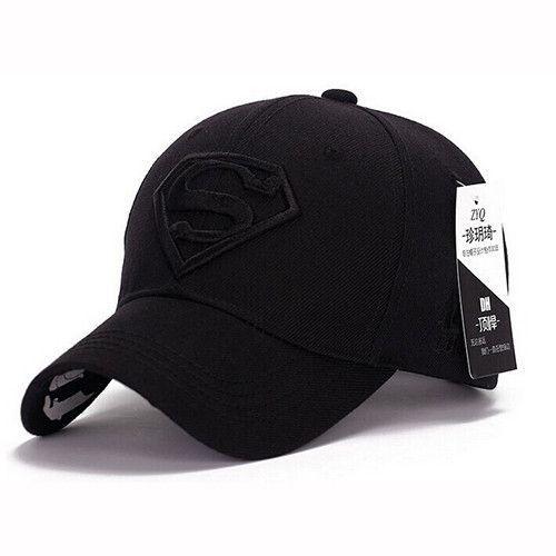 b120208cb6c 2015 Brand Superman Baseball Cap Unisex Adjustable Cotton Snapback Caps Men  Sport Hats for Women Outdoor Sun Hat