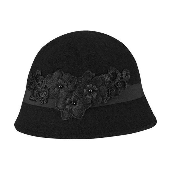 409e831afa3 Bucket Hat · Band · Bob · Bands · Conveyor Belt · Women s Betmar Mindenhall  Cloche ( 45) ❤ liked on Polyvore featuring accessories