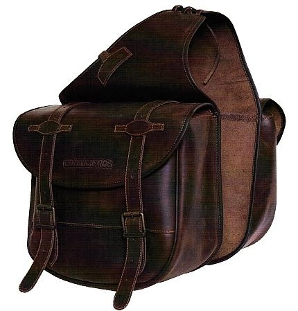 Genuine Black Leather Small Throw Over Western Style Saddlebags Google Search