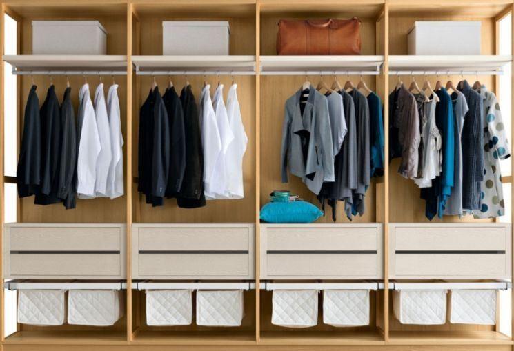 Progettazione Cabina Armadio : Risultati immagini per progetto cabina armadio lineare idee casa