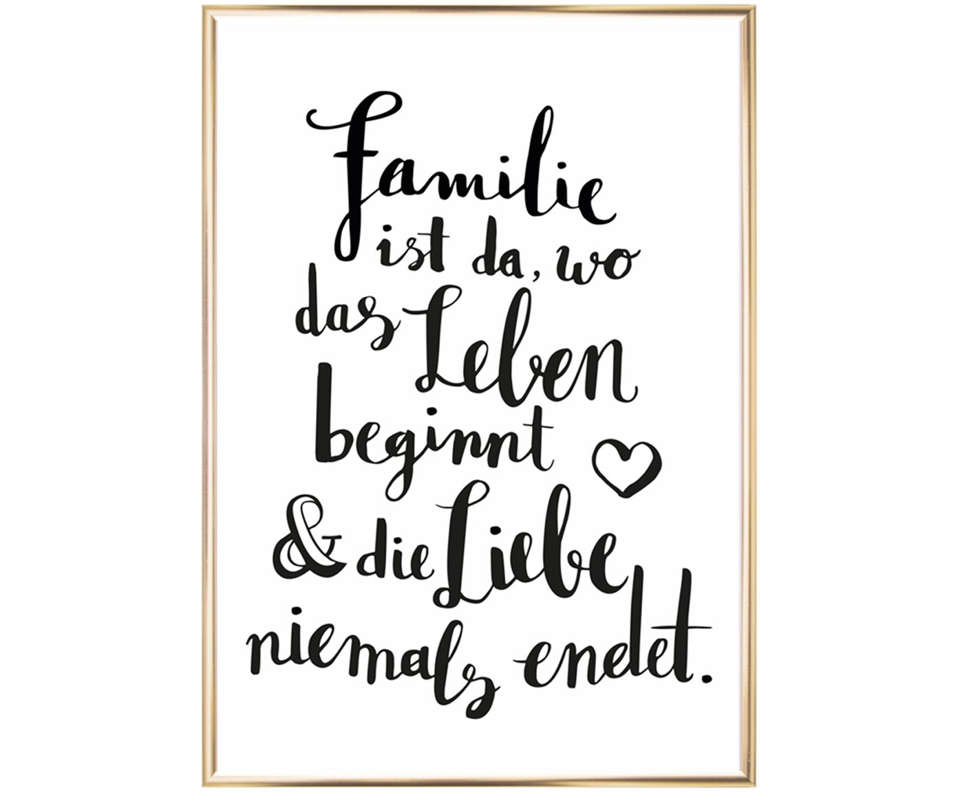 Tolle Wandbilder Gerahmter Digitaldruck Familie Nice Decoration Ideas
