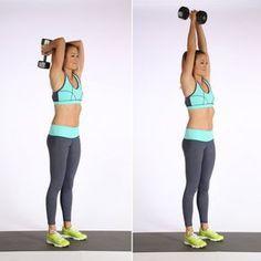 9 super exercices pour de superbes bras raffermis