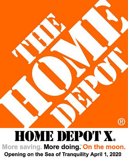 The First Home Depot On The Moon: Home Depot X
