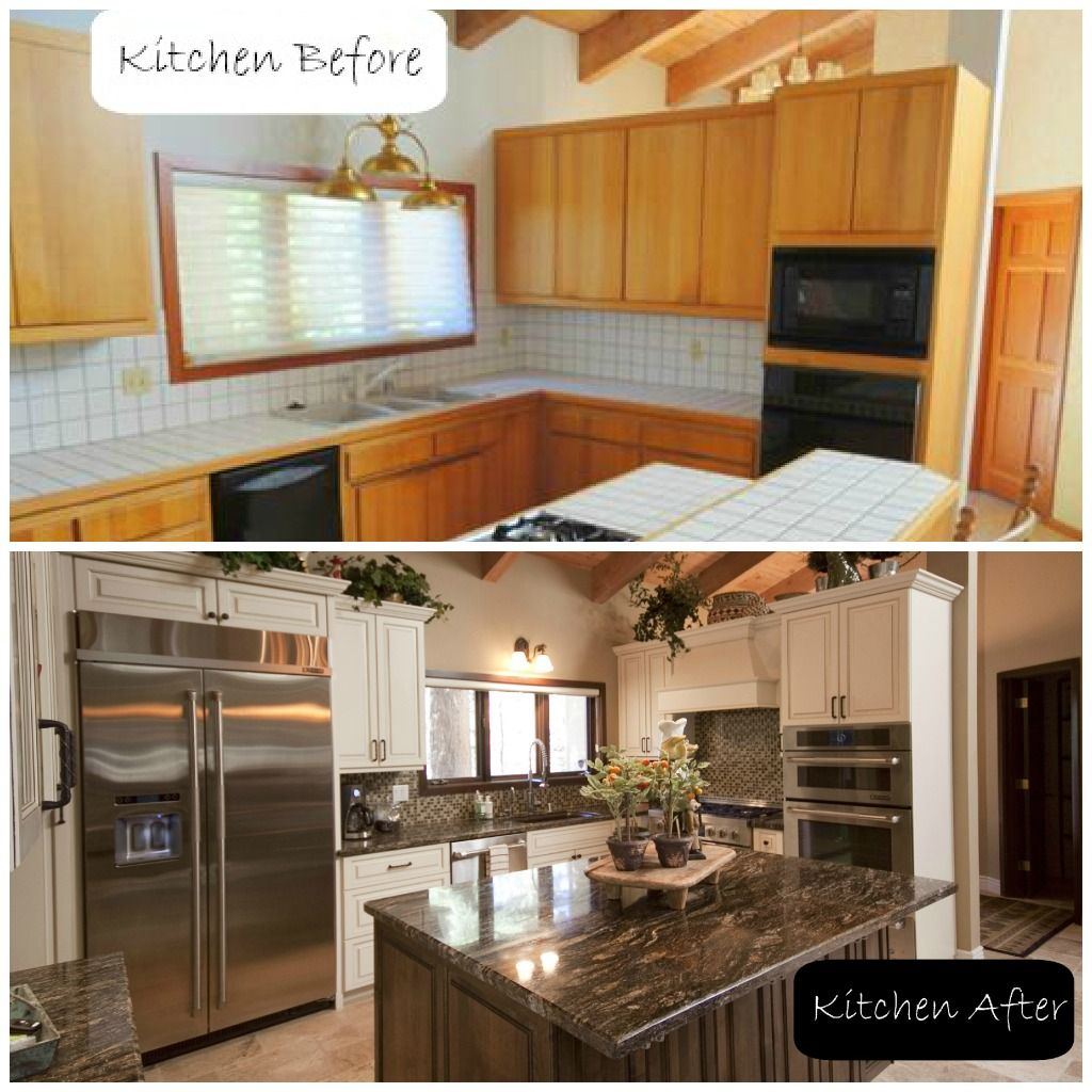 Incredible Kitchen Remodeling Ideas: Incredible Lake Tahoe Kitchen Remodel With Before And After Pictures!