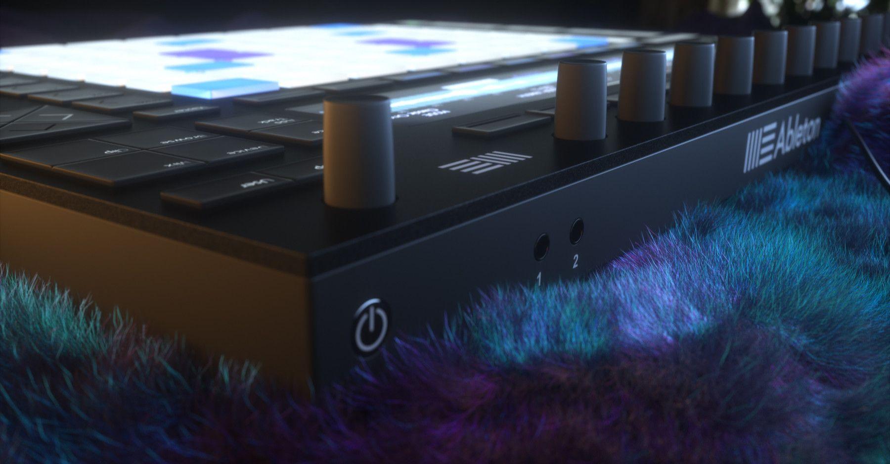 Ableton Push 2 Midi Controller 3D Model Hard surface high