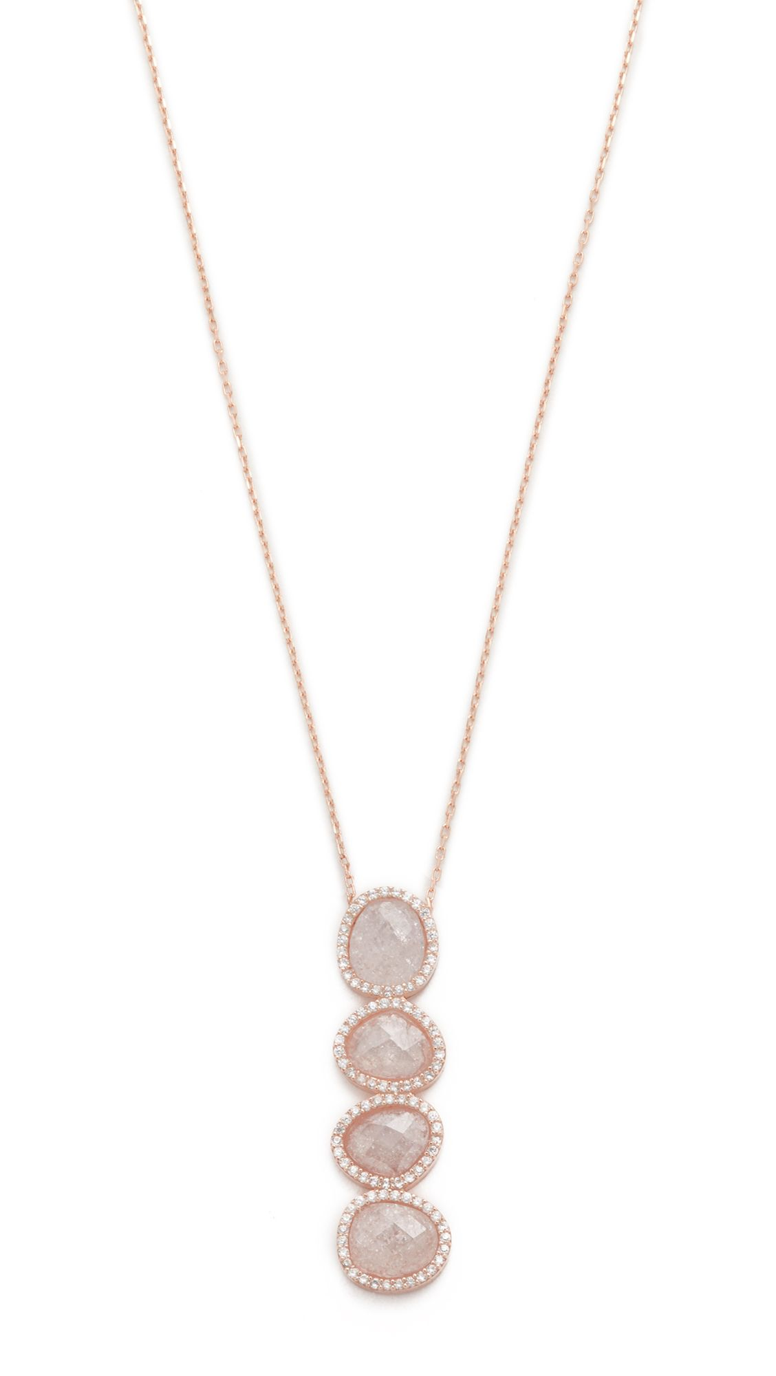 Crystal Moonstone Revelation Necklace