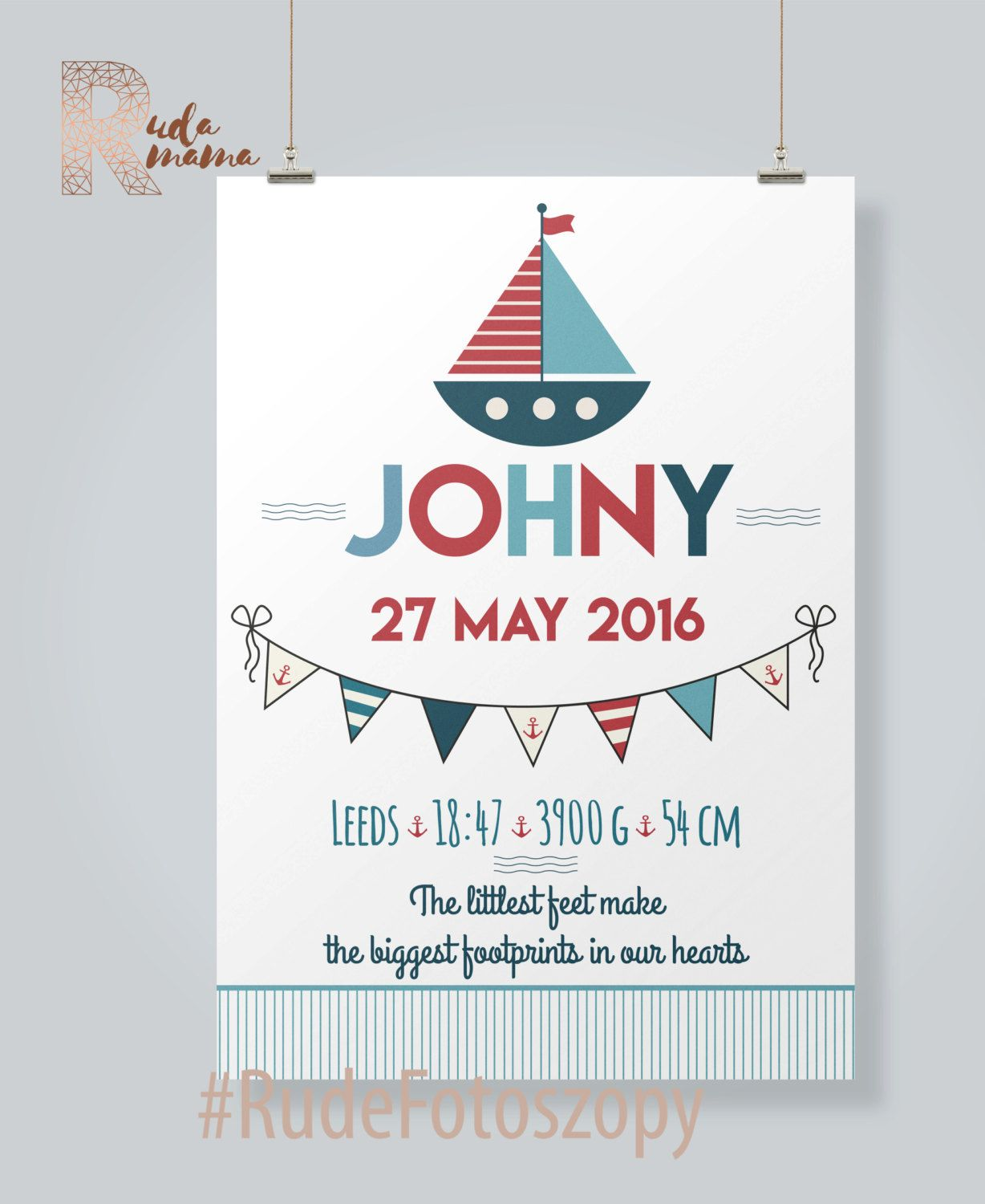 Sea adventures birth certificate baby info board announcement sea adventures birth certificate baby info board announcement nusery poster made to order a3 printable baby room baby shower aiddatafo Images