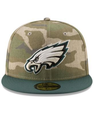 a016ccc229d New Era Philadelphia Eagles Vintage Camo 59FIFTY Fitted Cap - Green 7 3 8