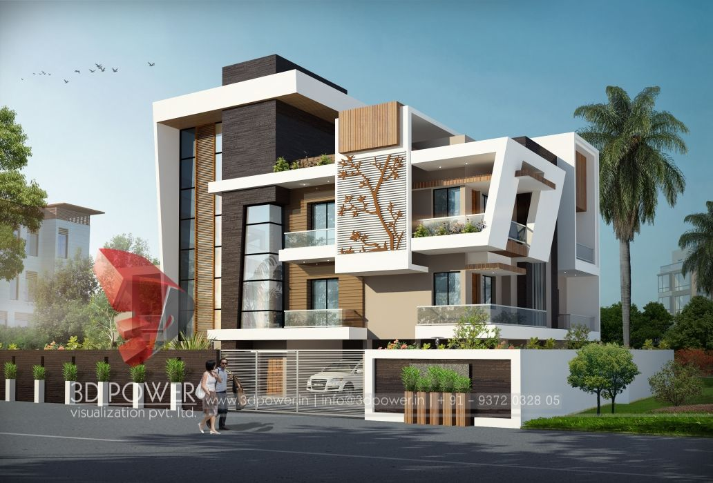 Pin by 3d power on the year of amazing creation by 3d for House outside design in india