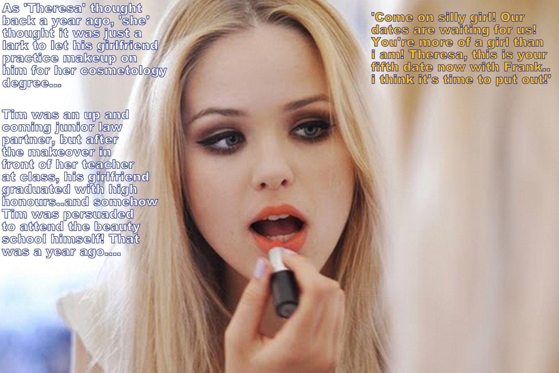 Bbw sissy diane slutty makeup smoke